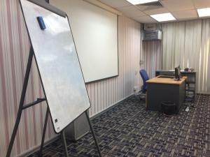 latihanICT 2 whiteboard projector screen