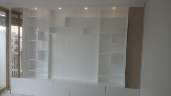 Bibliotheque Laque Blanc Etagre Bibliothque Blanc Laqu