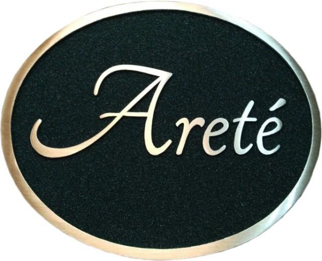 placa conmemorativa de bronce