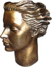 esculturas de bronce y bustos de bronce