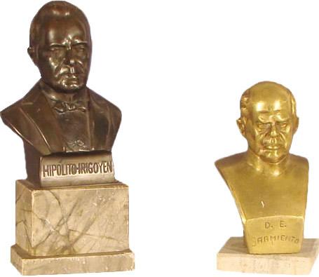 esculturas y bustos de bronce