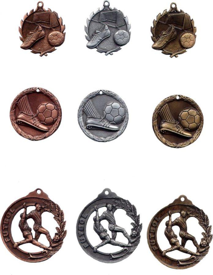 medallas micro fundidas