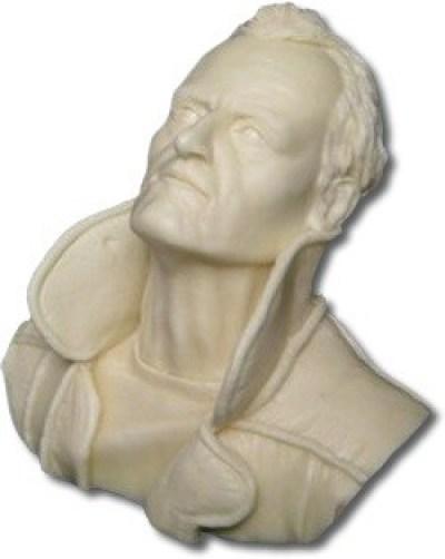 escultura modelada en resina