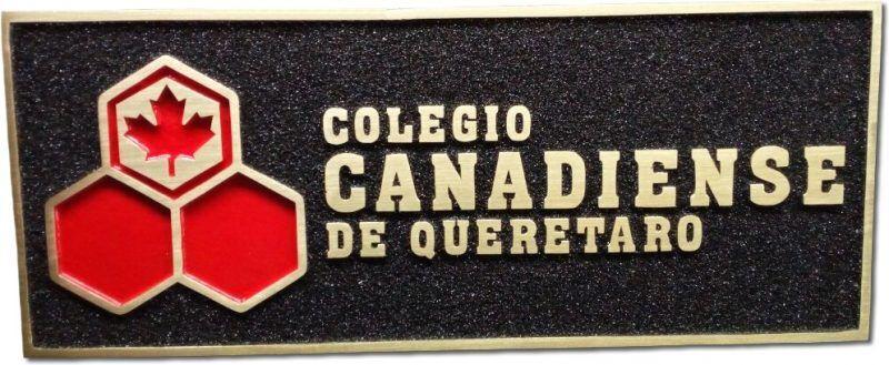 placa de bronce acabado cepillado fino