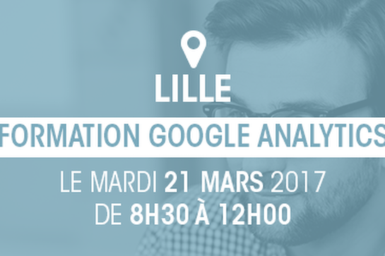 "21 mars – Formation Digitale ""Google Analytics"""