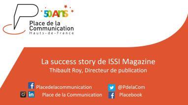 ISSI Magazine evenement place de la communication