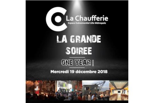 La Chaufferie fête ses 1 an !