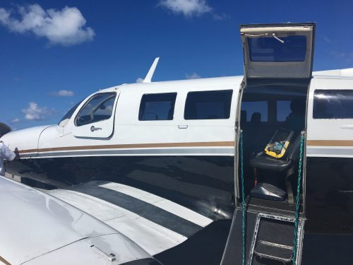A seat in the front row – Flamingo Air Nassau to Staniel Cay