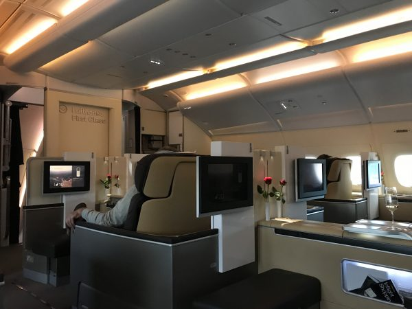 lufthansa first class a380 frankfurt to beijing place your bets. Black Bedroom Furniture Sets. Home Design Ideas