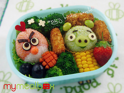 Angry Birds, bientôt dans votre assiette !