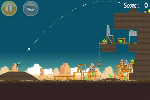 Angry Birds Golden Egg 21 tir