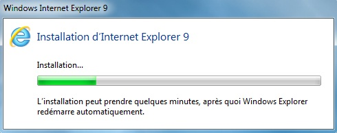 Internet Explorer 9 RC Installation