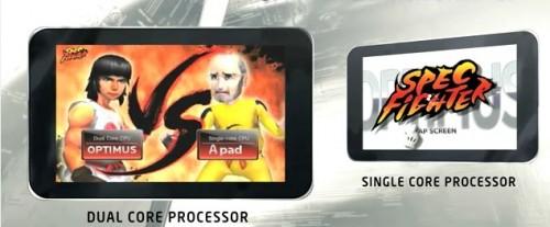 LG donne un joli coup de pied a Steve Jobs pendant la présentation de son Optimus Pad