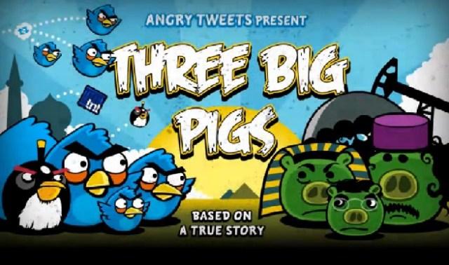 Angry Birds et les révoltes arabes