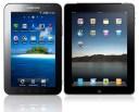 Galaxy Tab et Ipad