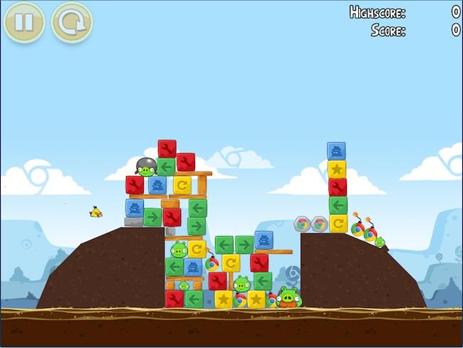 Angry Birds Chrome
