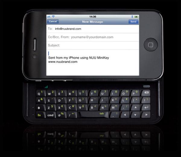Un clavier coulissant pour votre Iphone 4