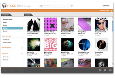 Google Music en Beta