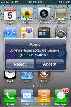 Des mises à jour OTA sur iOS 5 ?
