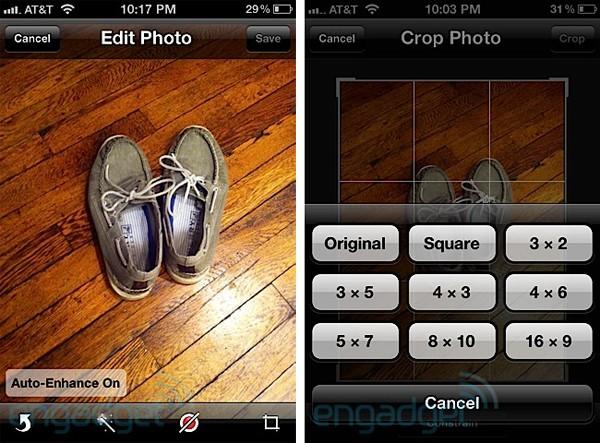 Edition de Photos iOS 5