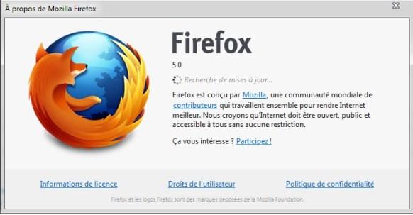 Il n'est plus possible de basculer entre les différents channels sur Firefox
