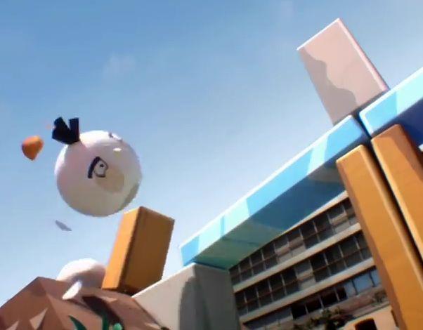 Angry Birds en live à Barcelone avec T-Mobile