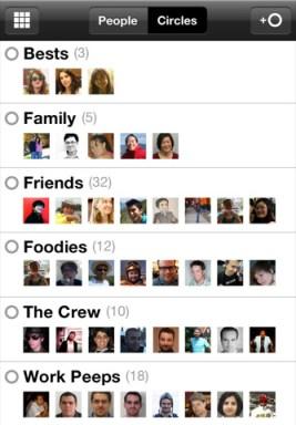 Google+ est disponible sur iOS