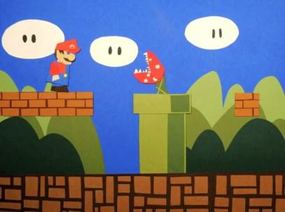 Mario version papier