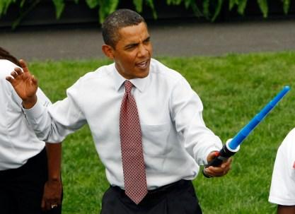 Obama LightSaber