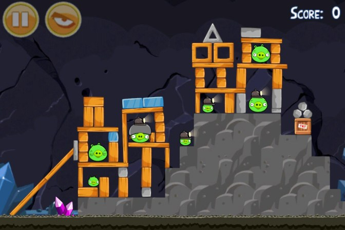 Angry Birds Mine And Dine niveau 17-2