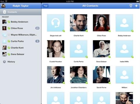 [MAJ] Skype débarque sur iPad