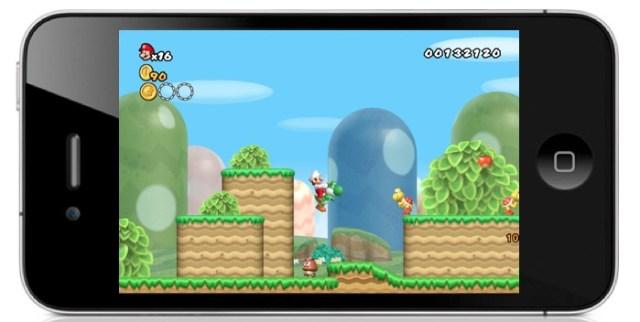 Mario, Luigi et Bowser bientôt sur iPhone et iPad?