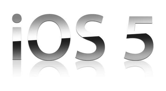 La beta 5 pour l'iOS5 est dispo et pas uniquement pour les développeurs