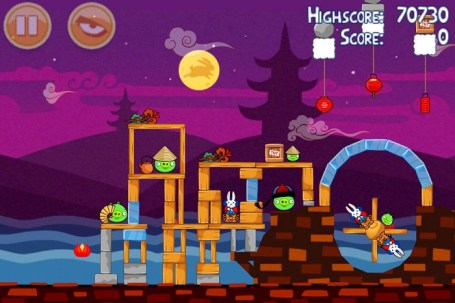 Angry Birds Seasons Moon Festival est disponible