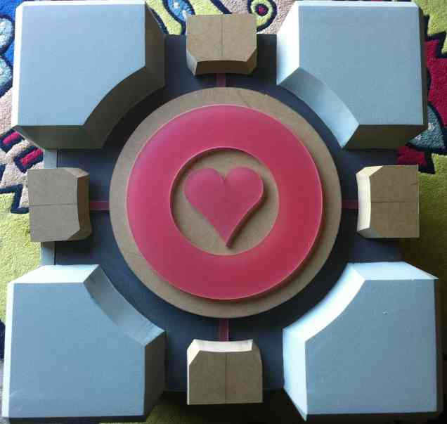 Quand le cube de portal devient un subwoofer