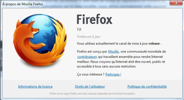Firefox 7 est disponible en version finale