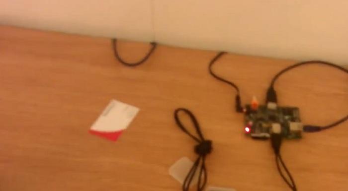 Démo du Raspberry Pi avec un film HD