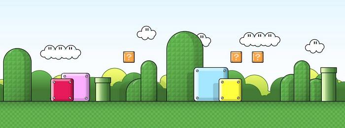 Super Mario Bros dans une boite !