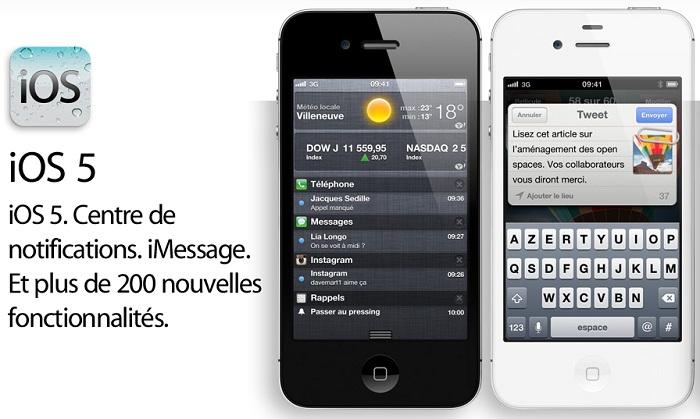 Le point sur iOS 5, d'iCloud, d'iTunes Match