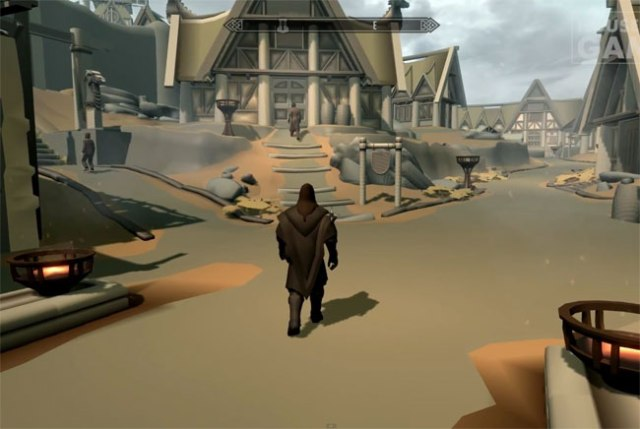 Le jeu Skyrim sans textures, un look de Team Fortress 2 ?