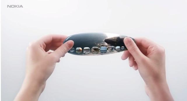 Nokia Humanform un concept de smartphone futuriste