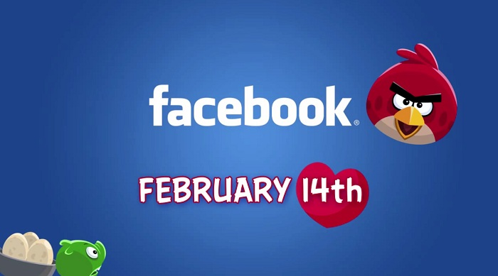 Angry Birds débarquera sur Facebook pour la Saint Valentin