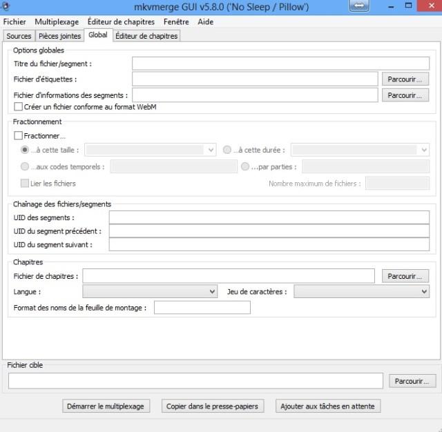 Manipulez vos fichiers MKV avec mkvmerge