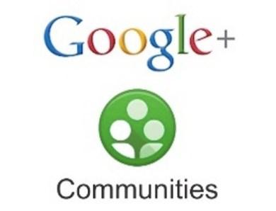 Google + dévoile ses communautés.