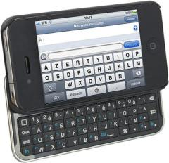 Test du clavier azerty bluetooh iKeyboard pour iPhone 4/4S