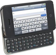 Test du clavier azerty bluetooh iKeyboard pour iPhone 4/4S