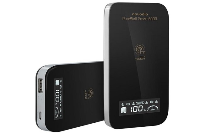 Test de la batterie externe Novodio PureWatt Smart 6000
