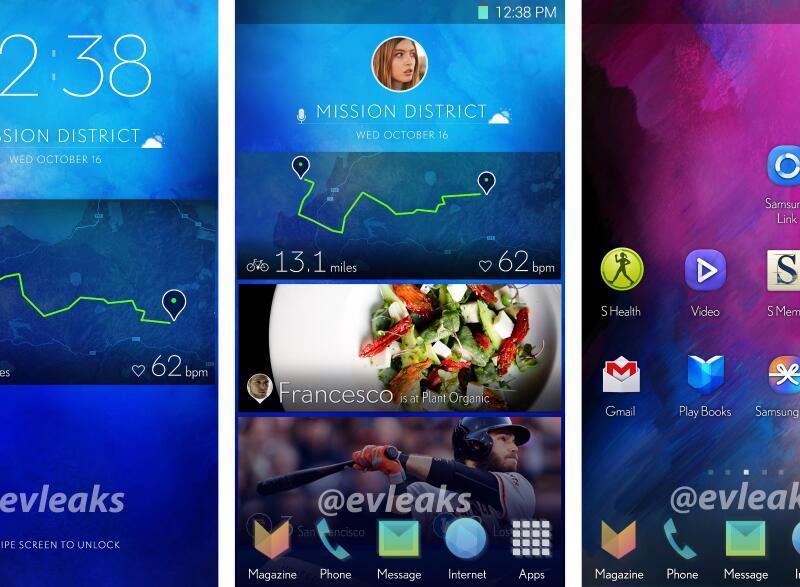 La future interface TouchWiz de Samsung dévoilée ?