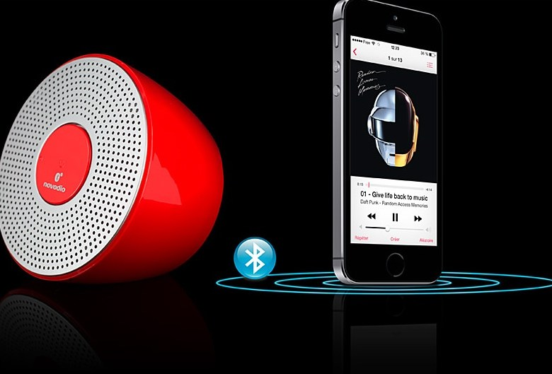 Test du Novodio Shower Bluetooth Speaker + Concours