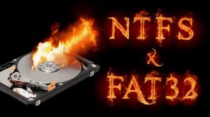 NTSF vs FAT32